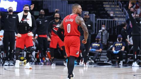 NBA/里拉德狂轟34分 拓荒者三分彈轟垮金塊搶下首勝