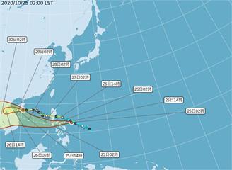 快新聞/第18號颱風「莫拉菲」生成 氣象局:下週有可能為台灣帶來水氣