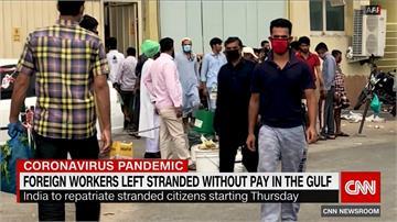 印度外地勞工終於可回家!20萬勞工申請搭機回國