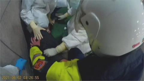 醫療暴力「零容忍」!  稱「睡不著」怨醫師不開鎮定劑 男砸毀篩檢隔離窗、偷溜失蹤