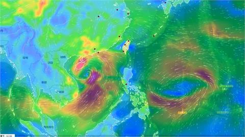輕颱「圓規」生成亂國慶!下周一二全台有雨