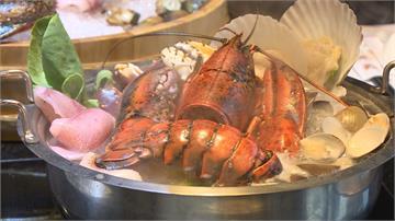 超狂巨無霸海鮮盆!帝王蟹、龍蝦、和牛任你吃