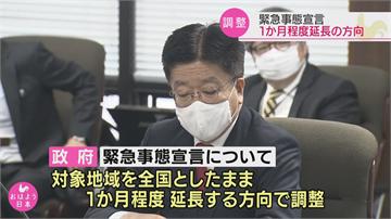日本武肺疫情不見減緩 緊急狀態恐再延長一個月