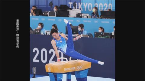 李智凱45秒完美落地摘銀牌 教練林育信激動落淚