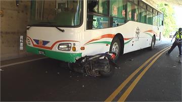 歹路不可行! 竊賊偷龍柏後 撞公車死亡