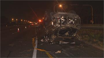 超載、車速快、酒駕?休旅車國道翻覆釀 4死2輕重傷!