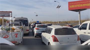 新疆喀什地區驗出確診 大動作封城民眾囤糧