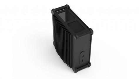 3C/STREACOM DB1最強靜音ITX機殼、裸測平台新鈦色正式登台