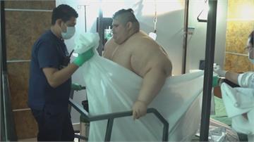 曾是全球最重男!墨國男染武肺痊癒