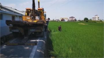 「社頭一秒到田中?」不是啦... 是這條路太窄!又有車不小心翻到「田中央」