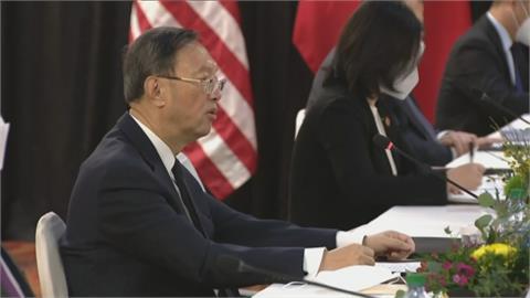 美中會談「中國化身戰狼訓話」 蓬佩奧示警拜登政府:軟弱將招致戰爭