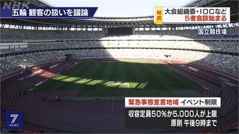 東京第4度緊急狀態 東奧1都3縣採閉門賽