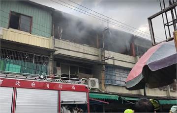 快新聞/台南安南區今早傳火警 延燒三戶一老人嗆傷送醫