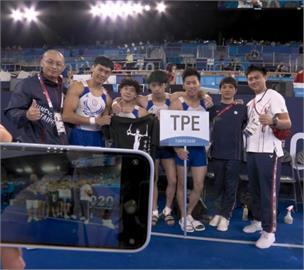 東奧/台灣體操男團無緣決賽 謝長廷:選手技術已達國際水準