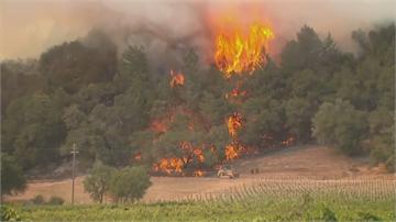 加州野火再燒2500英畝 近9萬戶預防性斷電