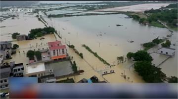 中國南方連一周強降雨 百萬人受災釀九死