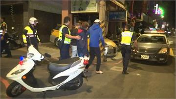 板橋青少年聚眾鬥毆 一見警察四處逃竄