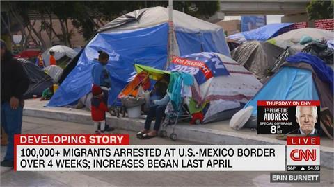 美墨邊境湧現移民潮 拜登政府挨批「無應對能力」