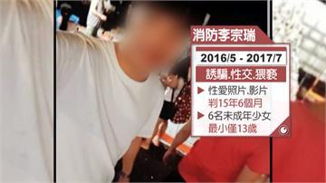 騙6少女上床、偷拍性愛影片 準消防員遭重判15年6個月