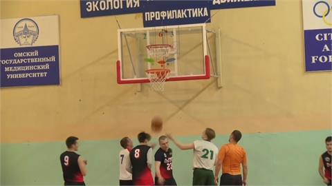 俄羅斯上下兩籃框籃球賽 最多一球得8分