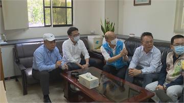 韓國瑜突訪議會3黨團 臨時會拍板4日開
