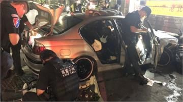 警匪飛車追逐! 嫌犯拒檢連撞公車、小黃被捕