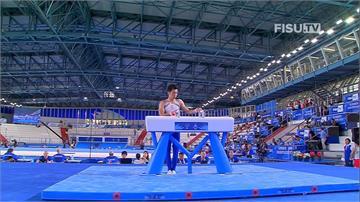 世大運/台灣體操史上第一面!李智凱拿下全能賽銅牌