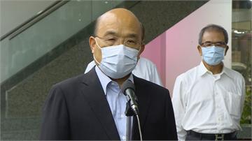 快新聞/中國迫害香港 蘇貞昌籲人民團結「勿讓中國武力對付台灣得逞」