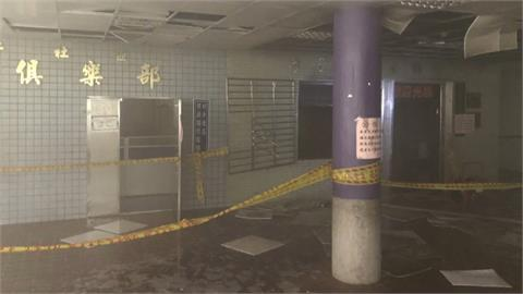 基隆調和市場傳火警 「祖孫館」 緊急疏散人員