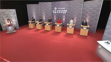 民進黨台南市長初選電視政見會 六人各自出招盼團結