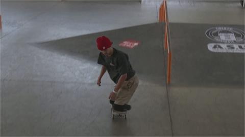 巴西身心障礙滑板手 苦練盼登上帕運舞台