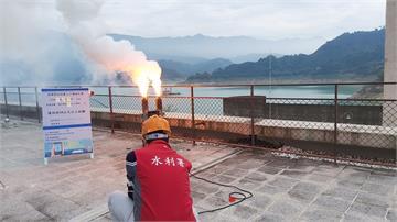 快新聞/把握「梵高」颱風外圍雲系! 水利署於石門、曾文水庫實施人工增雨