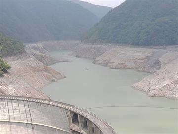 德基水庫蓄水量跌破4% 估剩餘14天