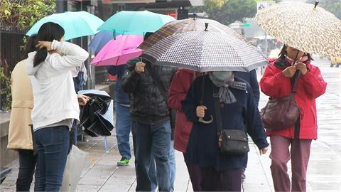 快新聞/今晨最低17度!北台灣連3天降雨 16縣市防10級強陣風