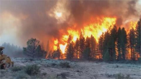 美西野火煙霧罩美東 俄勒岡「靴筒山大火」燒毀面積大於洛杉磯