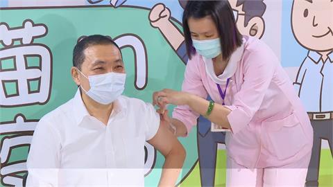 快新聞/AZ疫苗地方首長頭香被搶走 侯友宜:誰打第一針不是那麼重要