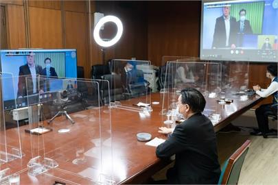 快新聞/吳釗燮接受德國「編輯網絡」視訊專訪 闡述中國威脅、台海情勢等議題