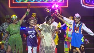 最年長101歲!新竹榮譽國民之家組飛齡樂團 銀髮歌舞秀總年齡逾3千歲 馮世寬登台舞動