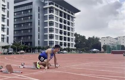 快新聞/「台灣最速男」楊俊瀚100公尺10秒26 是否取得東奧門票7/1見真章