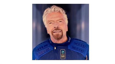 搶在貝佐斯之前!維珍創辦人將飛太空旅行:老婆說不會來參加我的葬禮