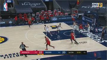 NBA戰況 溜馬技壓火箭!布拉格登生涯新高35分