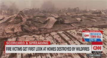 美西野火難撲滅 燒毀超過480萬英畝
