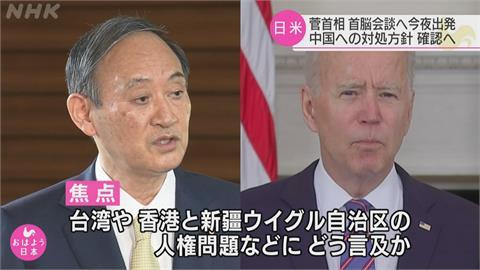 日相菅義偉將訪美 金融時報:美方希望聯合聲明挺台