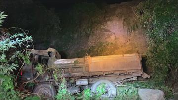 山區除草失聯兩天 家屬搜尋男子連人帶車滑落10公尺深邊坡身亡