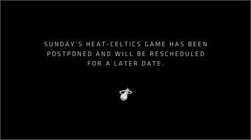 NBA/防疫規定讓熱火湊不到8人 對塞爾蒂克之戰延期