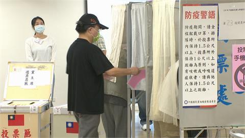 國民黨主席選舉登場 張、朱、江投票都喊有信心