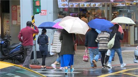 滯留鋒面加西南風雨勢一波波 留意隨機對流降雨