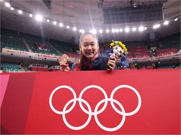東奧/苦練22年在奧運摘銅 賴清德讚「空手道精靈」文姿云:永不言退的堅持!