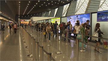 國慶操演導致班機延誤 旅客怨:沒先通知