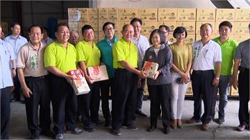 蔡總統訪旗山!肯定蕉農創新開發市場